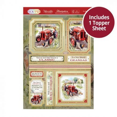 On the Farm Hunkydory Decoupage Topper Sheet